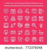 love line icon editable stroke... | Shutterstock .eps vector #772378348