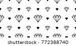 diamond gem icon jewelry vector ... | Shutterstock .eps vector #772388740