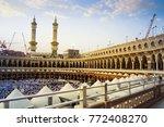 mecca  saudi arabia   december... | Shutterstock . vector #772408270