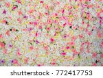 rose flower background for... | Shutterstock . vector #772417753