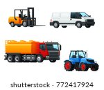transportation 3d icon set of... | Shutterstock .eps vector #772417924