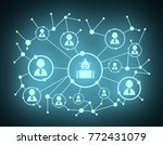 growth background with lines ...   Shutterstock . vector #772431079