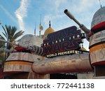 world premiere of 'star wars ... | Shutterstock . vector #772441138