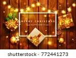 vector illustration for merry... | Shutterstock .eps vector #772441273