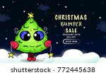 christmas day sale | Shutterstock .eps vector #772445638