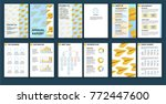 elements of infographics for... | Shutterstock .eps vector #772447600