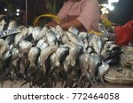 milkfish on display at the... | Shutterstock . vector #772464058