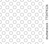 vector seamless pattern.... | Shutterstock .eps vector #772474126