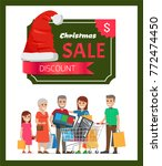 Discount Christmas Sale Poster...