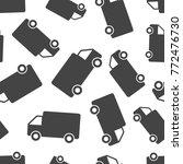 truck  car seamless pattern...