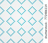 seamless geometric dots   Shutterstock .eps vector #772486114