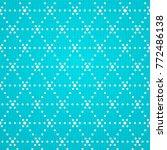 seamless geometric dots   Shutterstock .eps vector #772486138
