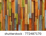 Colorful Wooden Background...