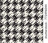 irregular tangled shapes.... | Shutterstock .eps vector #772496044