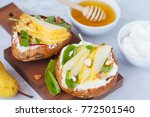 Sandwiches With Cottage Cheese...