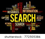 search word cloud collage ... | Shutterstock . vector #772505386