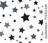star seamless pattern. modern... | Shutterstock .eps vector #772511134