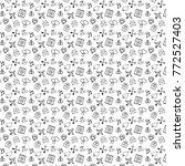 valentine's day pattern   Shutterstock . vector #772527403
