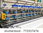 manufacture of mattresses.... | Shutterstock . vector #772527676