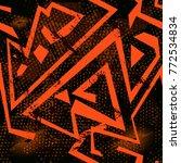 abstract seamless sport pattern ... | Shutterstock .eps vector #772534834