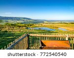 picturesquely situated lodge in ...   Shutterstock . vector #772540540