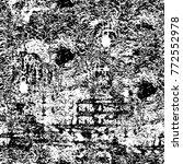 grunge black and white seamless | Shutterstock . vector #772552978