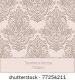 vintage seamless pattern. eps 8
