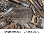 Old Used Woodworking Tools On ...