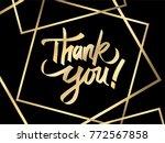 thank you illustration vector | Shutterstock .eps vector #772567858