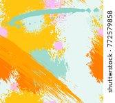 splash brush strokes seamless... | Shutterstock .eps vector #772579858