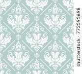 orient vector classic pattern.... | Shutterstock .eps vector #772595698