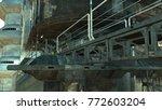 futuristic cityscape....   Shutterstock . vector #772603204