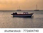 Fishing Boat And Sail Boats...