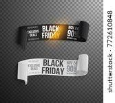 illustration of black friday... | Shutterstock . vector #772610848