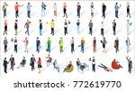 isometric 3d flat design vector ... | Shutterstock .eps vector #772619770