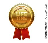 life time manufacturers... | Shutterstock .eps vector #772624360