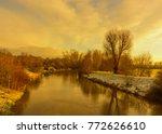 Color Outdoor Idyllic Golden...
