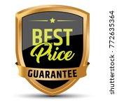 best price guarantee badge   Shutterstock .eps vector #772635364