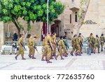 jerusalem  israel   november... | Shutterstock . vector #772635760
