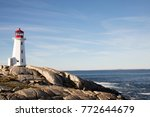 Peggy\'s Cove Lighthouse On...