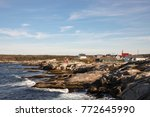 Peggy\'s Cove On Rocky Shores O...