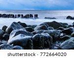 island r gen  germany ... | Shutterstock . vector #772664020