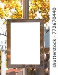 mock up. advertising template...   Shutterstock . vector #772670440