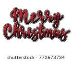 merry christmas  volume...   Shutterstock .eps vector #772673734