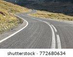 transfagarasan highway  ... | Shutterstock . vector #772680634