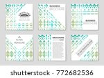 abstract vector layout... | Shutterstock .eps vector #772682536