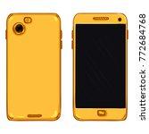 vector set of cartoon gold...   Shutterstock .eps vector #772684768