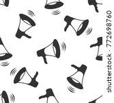 megaphone icon seamless pattern ...   Shutterstock . vector #772698760