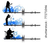 musical group | Shutterstock .eps vector #77271046