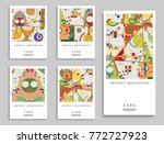 card or invitation. vector... | Shutterstock .eps vector #772727923